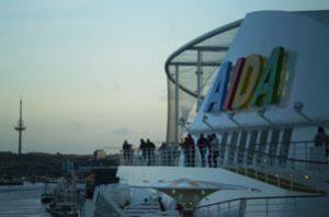 An Bord der AIDAluna