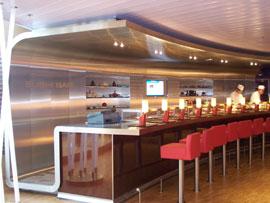 Sushi-Bar auf der AIDADiva