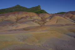 Naturschauspiel Coloured Earth auf Mauritius