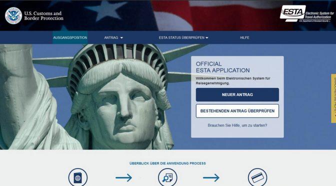 Offizielle Website zum Esta-Antrag