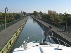 Kanalbrücke von Briare - über die Loire