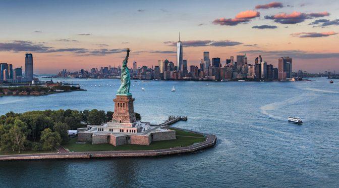 New York USA Liberty Island